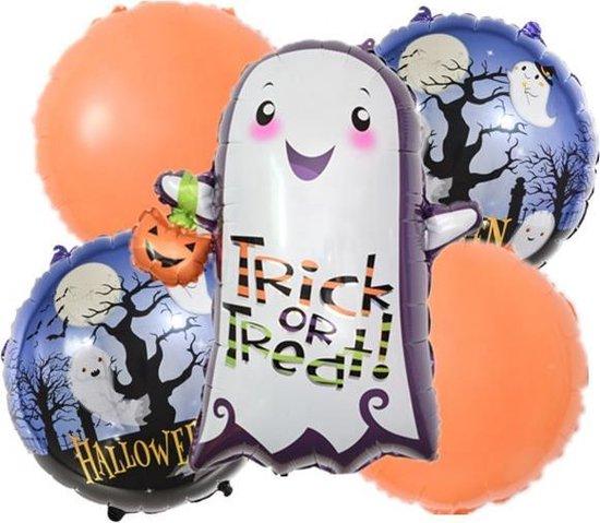 Geest-Halloween-Folie-Ballonnen-Set(5stuks)