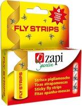 Zapi Vliegenvanger - Klassieker van vroeger! - Gifvrij - Plakstrips - 4 Stuks - Vliegenvanger Vliegenval