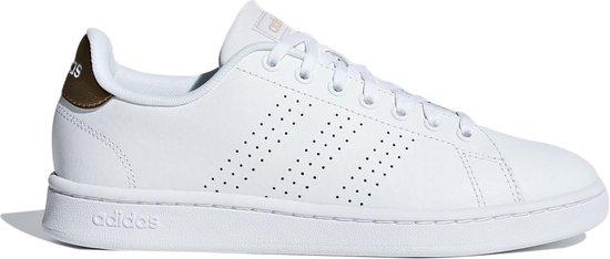bol.com | adidas Advantage Sneakers Dames - White - Maat 39 1/3