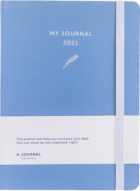 Afbeelding van My Journal Agenda 2021 - Lavendel