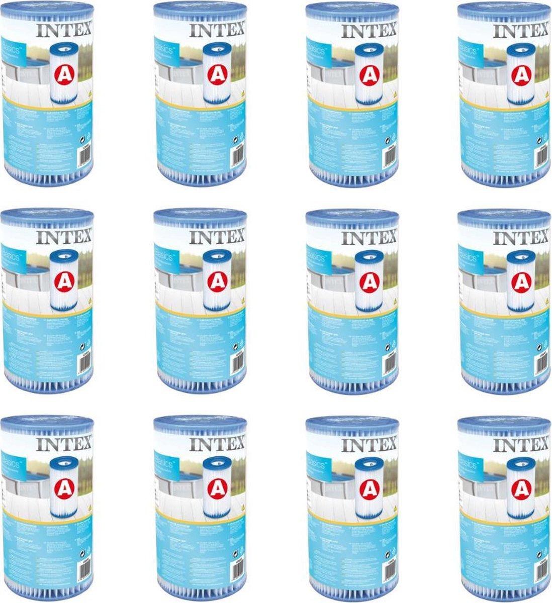 Intex Filter - A filter - 12x Zwembad Filtercartridge Type A