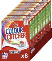 K2r Colour Catcher Anti-kleurdoorloop doekjes - Voordeelverpakking - 8 x 12 stuks