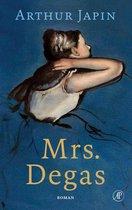 Boek cover Mrs. Degas van Arthur Japin (Onbekend)