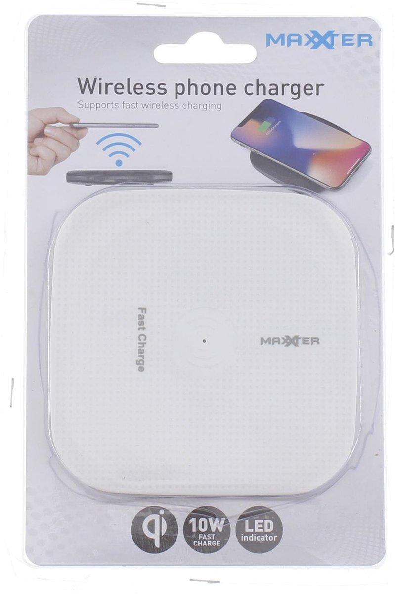 Qi Draadloze Dockstation Oplader | Qi Charger Wireless | Charging pad| Geschikt voor Apple iPhone , 8, X, Plus | Geschikt voor alle telefoons / tablets met met Qi | Samsung | Huawei | Uitvoering zie laatste foto (Witte Kleur)