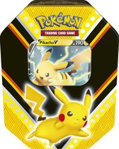 Pokémon V Powers Tin Pikachu - Pokémon Kaarten