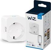 WiZ Slimme Stekker - Eenvoudige Bediening via de App - Stekkertype E - Wi-Fi