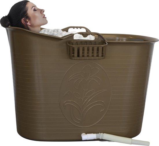 EKEO - Zitbad Voor Volwassenen - Bath Bucket - Ligbad - Gold - 200L