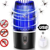 TribeTek - 2 in 1 Muggenlamp + Stekker - Nachtlamp - Muggenvanger - Insectenlamp - Insectenvanger - Mosquito Killer - Anti muggen - Muggenzuiger