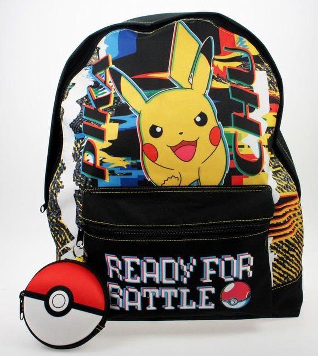 Pokémon Rugzak Jongens 16 Liter 36 X 24 Cm Polyester Zwart/geel