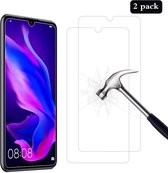 Huawei P30 Lite - Huawei P30 Lite New Edition - Huawei P30 Lite 2020 Screenprotector Glas - Tempered Glass Screen Protector 2x AR QUALITY