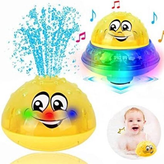 Afbeelding van baby speelgoed - badspeelgoed - speelgoed voor in bad - waterspeelgoed - bewegend speelgoed - zingend speelgoed - UFO - badspeeltjes - peuterspeelgoed - speelgoed 0-2 jaar speelgoed