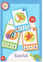 kwartet - kwartet voor kinderen - oceaan - zee - spelkaarten - kaarten - kaartspellen - kwartetten - spel - voor kinderen - vanaf 4 jaar