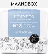LILLYDOO luiers - Maat 2 (4-8 kg) - 185 Stuks - Maandbox