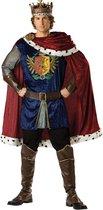 Koning kostuum voor heren - Premium - Verkleedkleding - Medium