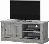 Tv-meubel Freddy in rustieke eikkleur