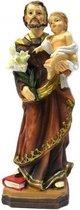 Beeld Jozef en Jezus 12 cm