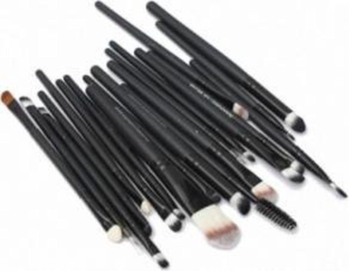 Make up kwasten set 20 stuks - Merkloos