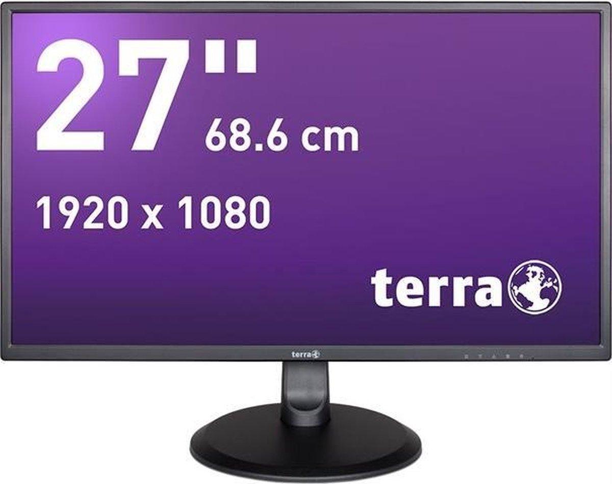 Wortmann AG TERRA LCD/LED 2747W 68,6 cm (27) 1920 x 1080 Pixels Full HD Zwart