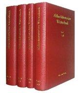 Althochdeutsches W rterbuch. Band I Bis IV