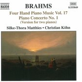 Brahms: Four-Hand Piano Music,