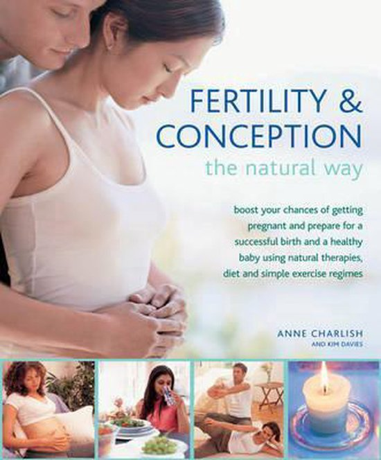 Boek cover Fertility and Conception the Natural Way van Anne Charlish (Hardcover)