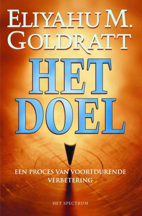 Cover van het boek 'Het Doel'