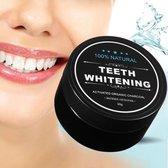 Natural Teeth Whitening - Merkloos - Activated Charcoal Tandenbleker