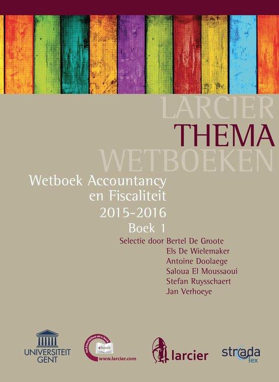 Larcier ThemaWetboeken - Accountancy en Fiscaliteit