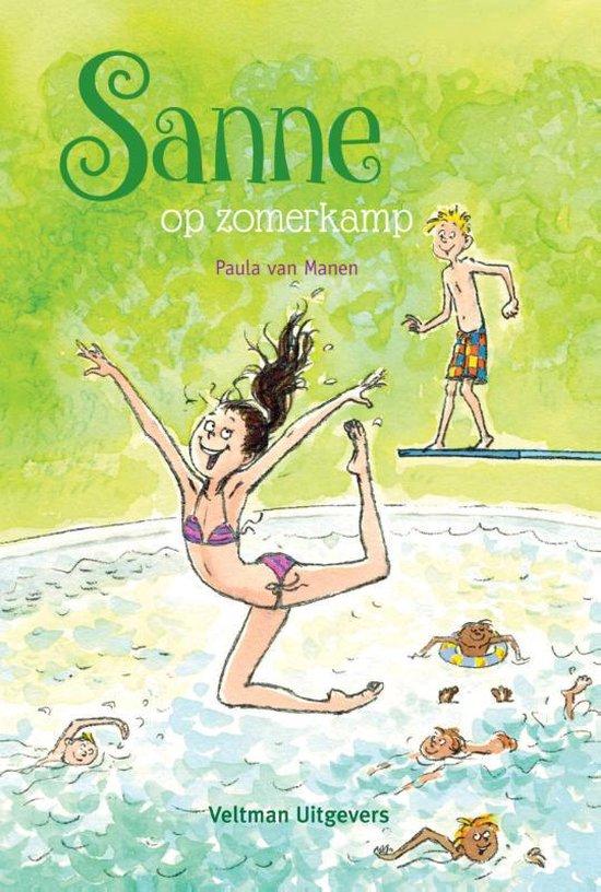 Boek cover Sanne op zomerkamp van Paula van Manen (Hardcover)