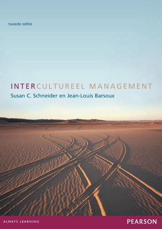Intercultureel management - S.C. Schneider |