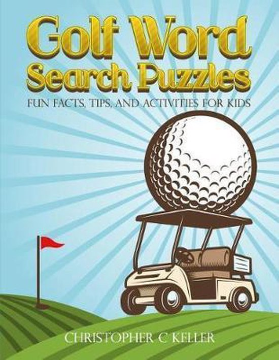 Golf Word Search Puzzles