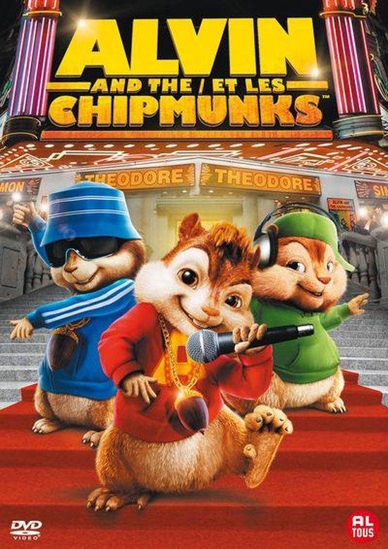 Cover van de film 'Alvin & The Chipmunks'