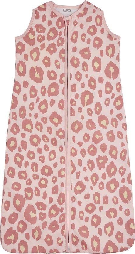 Meyco zomerslaapzak Panter - 110 cm - roze