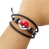 Pokemon Armband Pokeball Polsband Sieraden Cosplay Anime