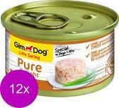 Gimdog Little Darling Pure Delight - Kip - Hondenvoer - 12 x 85 g