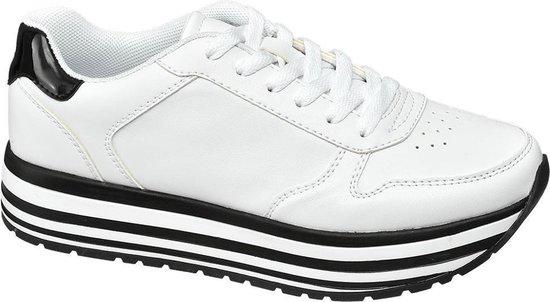 bol.com | Graceland Dames Witte sneaker