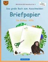 Brockhausen Bastelbuch Band 4 - Das Gro e Buch Zum Ausschneiden