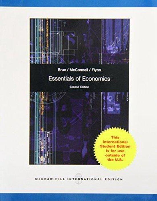 Boek cover Essentials of Economics van Stanley Brue (Paperback)
