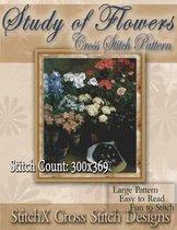 Study of Flowers Cross Stitch Pattern