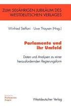 Boek cover Parlamente und Ihr Umfeld van