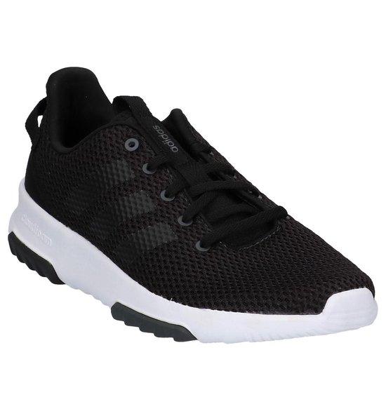 Adidas - Cloudfoam Racer Tr - Sneaker runner - Heren - Maat 40,5 -  Zwart;Zwarte - Utility Black F16/Cblack/Ftwwht