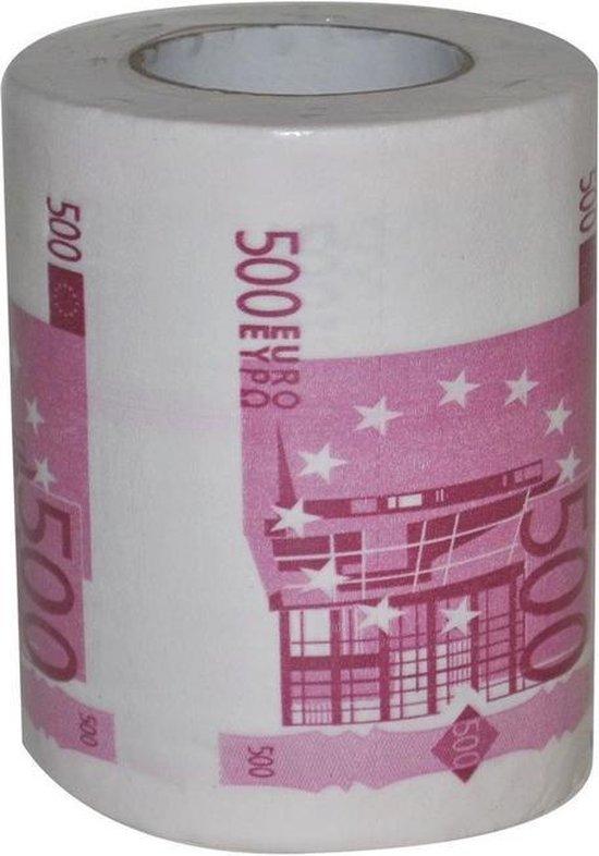 500 euro toiletpapier