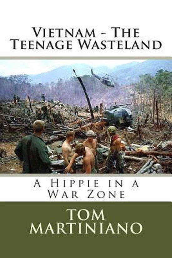 Boek cover Vietnam - The Teenage Wasteland van Tom Martiniano (Paperback)