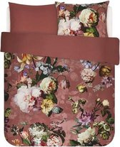 Essenza Fleur - Dekbedovertrek - Lits-jumeaux - 240x200/220 cm  cm - Dusty Rose