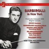 Barbirolli John - Wagner New York Concert..