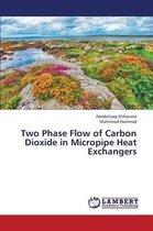 Two Phase Flow of Carbon Dioxide in Micropipe Heat Exchangers