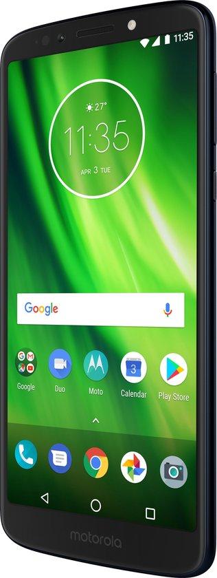 Motorola Moto G6 Play - 32 GB - Deep Indigo (zwart)