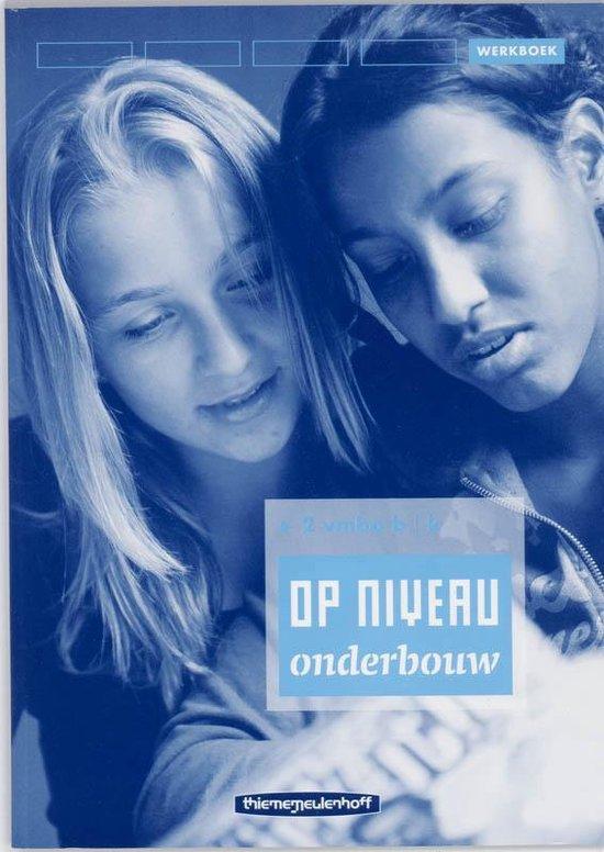 Op Niveau Onderbouw / 2 VMBO BK / deel Werkboek - R. Kraaijeveld  