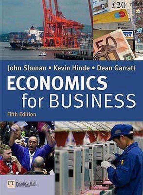 Boek cover Economics for Business and CWG Pack van John Sloman (Onbekend)