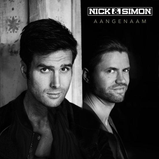 CD cover van Aangenaam (Deluxe) van Nick & Simon